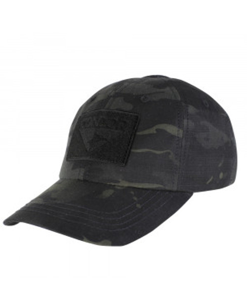 Black Multicam Tactical Hat