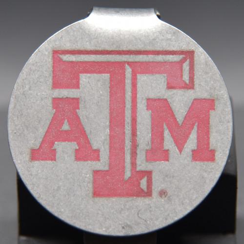 Texas A&M Badge Pocket Clip Keychain