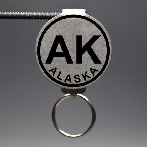 Alaska- AL Keychain