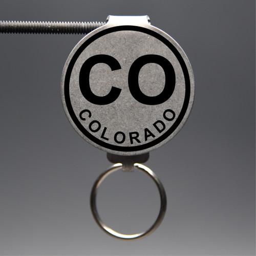 Colorado- CO Keychain