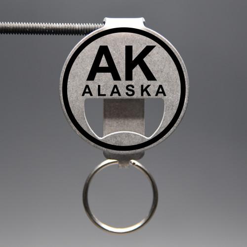 Alaska- AK Bottle Opener Keychain