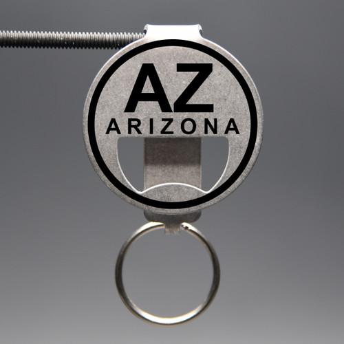 Arizona- AZ Bottle Opener Keychain