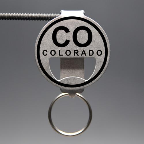 Colorado- CO Bottle Opener Keychain