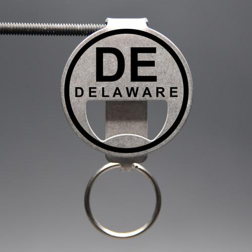 Delaware- DE Bottle Opener Keychain