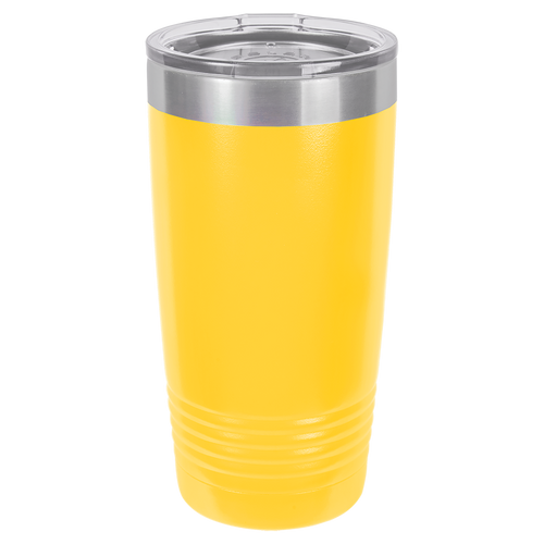 Yellow 20oz Ring Neck Tumbler