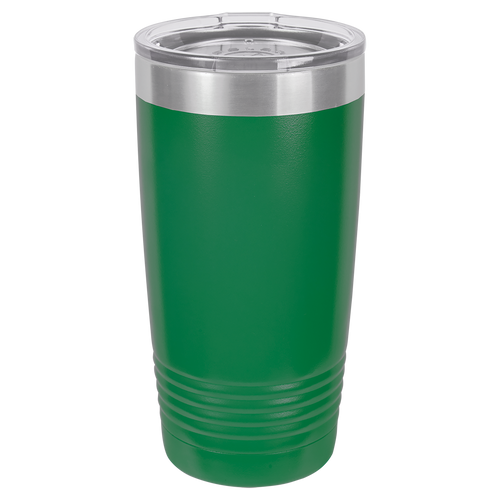 Green 20oz Ring Neck Tumbler