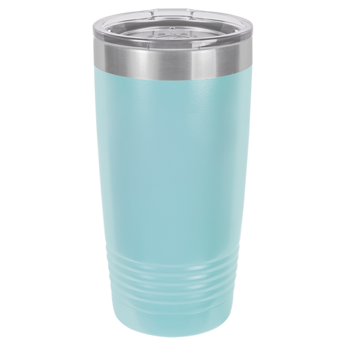 Light Blue 20oz Ring Neck Tumbler