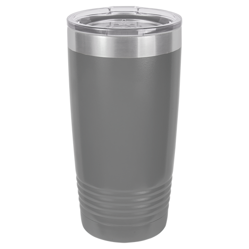 Gray 20oz Ring Neck Tumbler