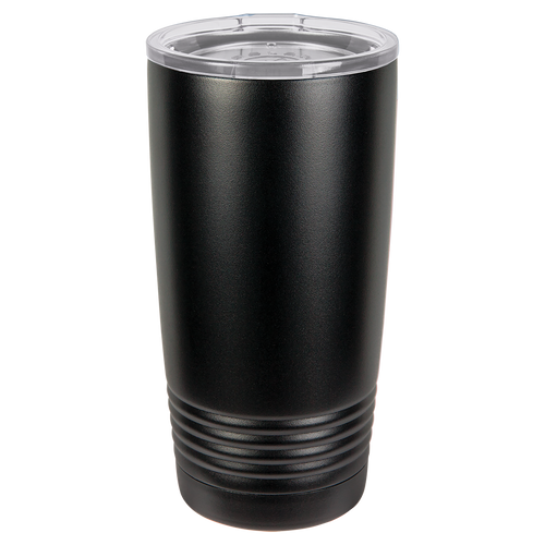 Black 20oz Ring Neck Tumbler