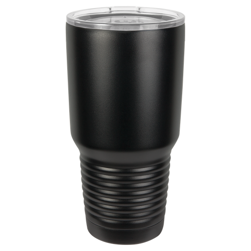 Black 30oz Ring Neck Tumbler