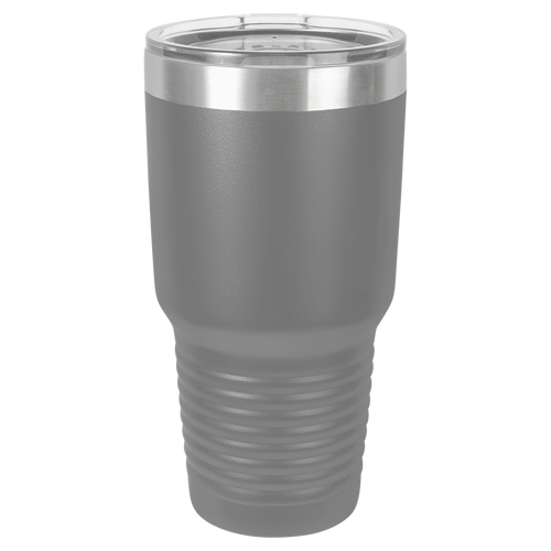 Gray 30oz Ring Neck Tumbler