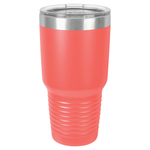 Coral 30oz Ring Neck Tumbler