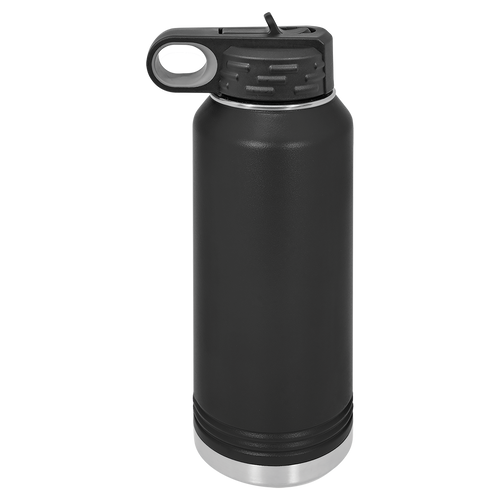 Black 32oz. Water Bottles