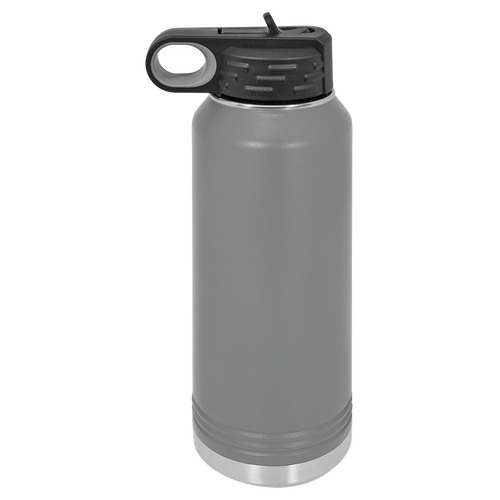 Gray 32oz. Water Bottles