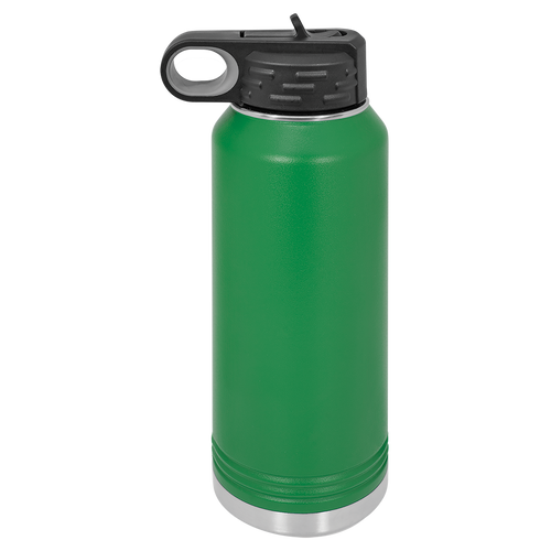 Green 32oz. Water Bottles