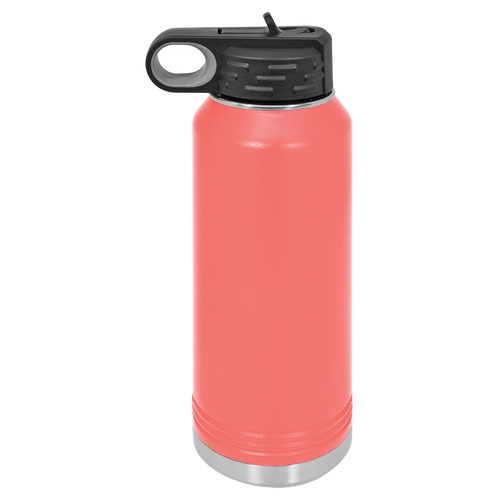 Coral 32oz. Water Bottles