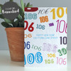 Age Is Just A Number Personalised Birthday Card by Dig The Earth
