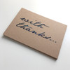 With Thanks – Set Of 12 Thank You Note Cards