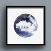 Luna Clouds print by Dig The Earth