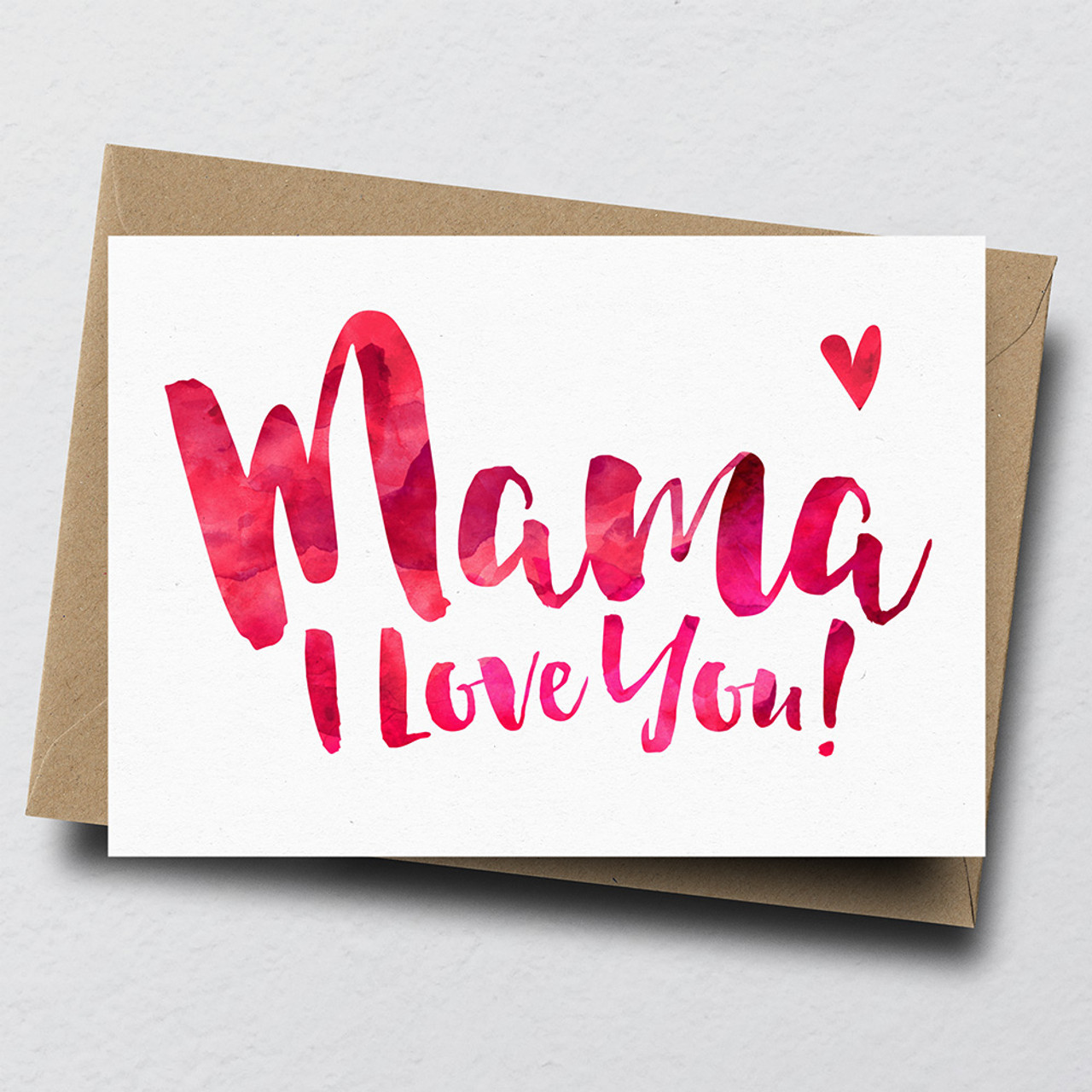 Super Mama I Love You Greeting Card Dig The Earth Funny Birthday Cards Online Fluifree Goldxyz