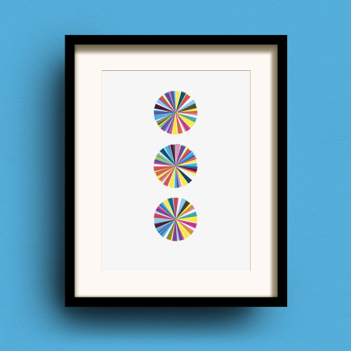 Carousel No.3 print by Dig The Earth