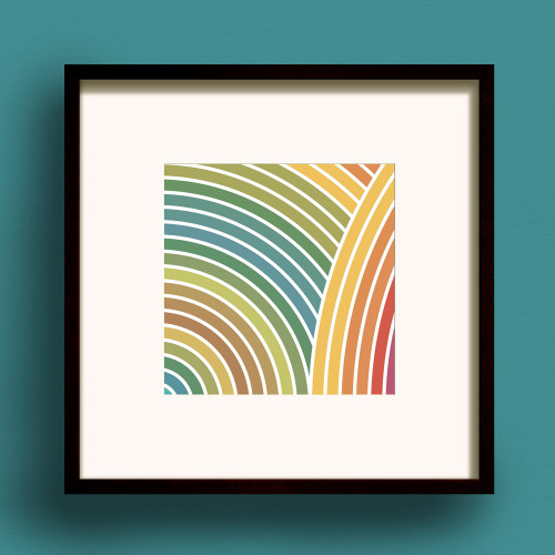 Zen Earth No.1 print by Dig The Earth