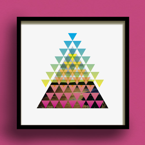Pyramidica No.1 print by Dig The Earth