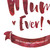 The Most Amazingly Awesome Mum Personalised Print in Pomegranate (Detail) by Dig The Earth