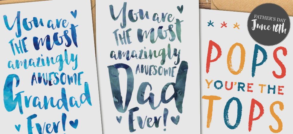 Father's Day Cards 2019 by Dig The Earth