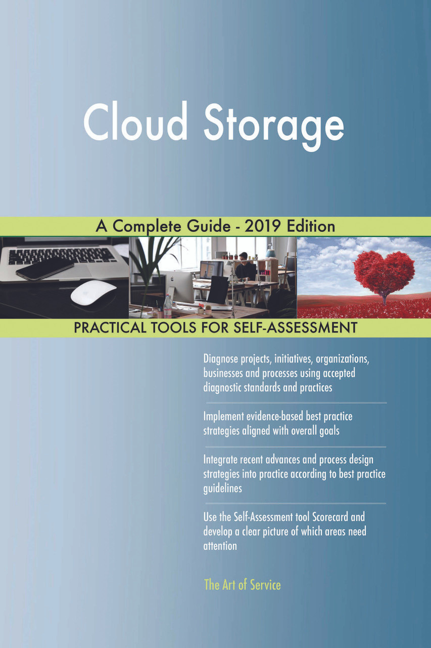 Cloud Storage A Complete Guide - 2019 Edition