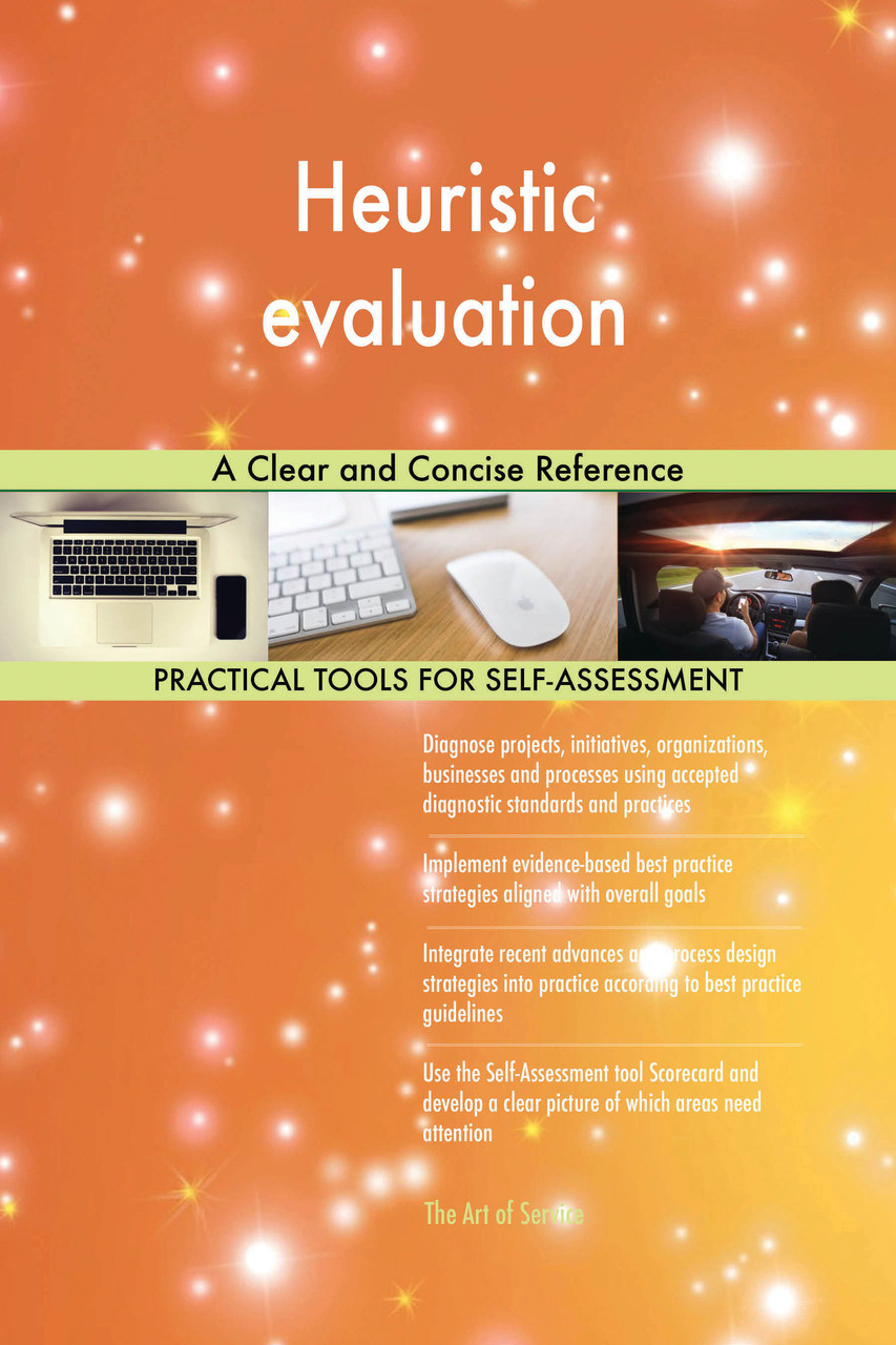9780655196365 Heuristic evaluation A Clear and Concise Reference