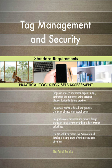 Tag Management and Security Standard Requirements
