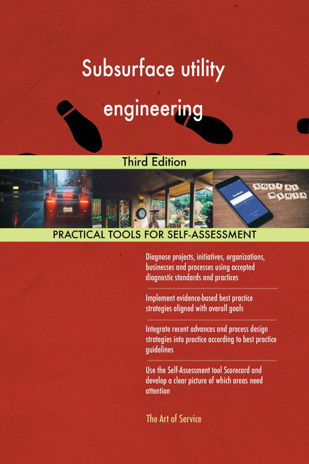 Subsurface utility engineering Third Edition