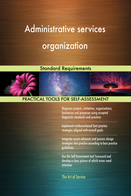 Administrative services organization Standard Requirements