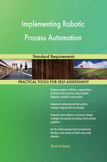 Implementing Robotic Process Automation Standard Requirements