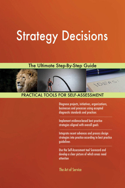 Strategy Decisions The Ultimate Step-By-Step Guide