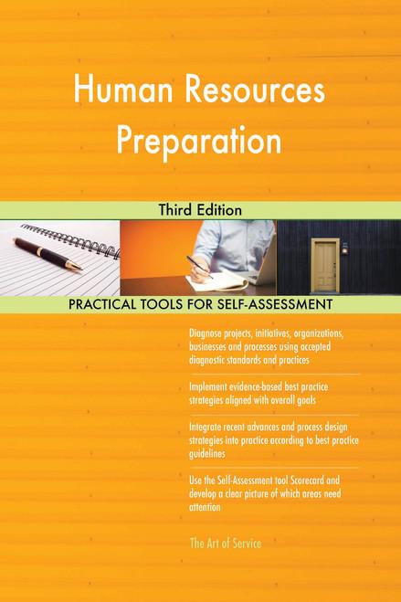 Human Resources Preparation Third Edition