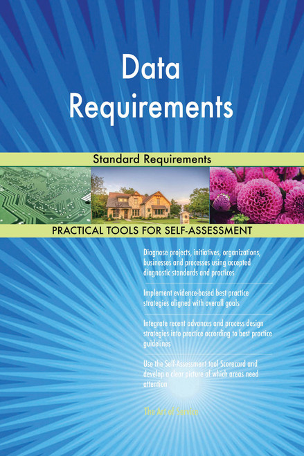 Data Requirements Standard Requirements