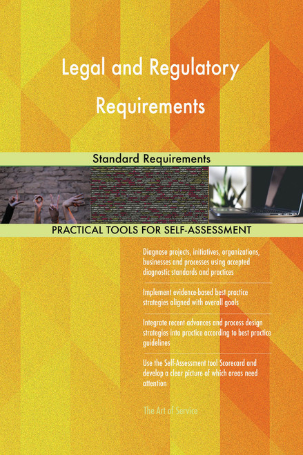 Legal and Regulatory Requirements Standard Requirements