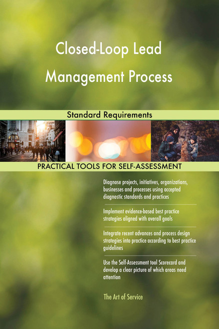 Closed-Loop Lead Management Process Standard Requirements