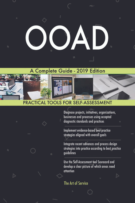 OOAD A Complete Guide - 2019 Edition