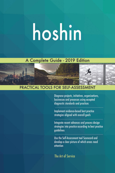 hoshin A Complete Guide - 2019 Edition