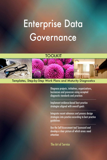 Enterprise Data Governance Toolkit: best-practice templates, step-by-step work plans and maturity diagnostics