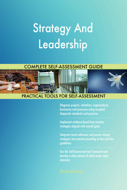 Strategy And Leadership Toolkit