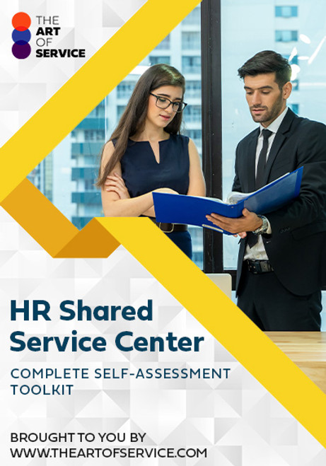 HR Shared Service Center Toolkit