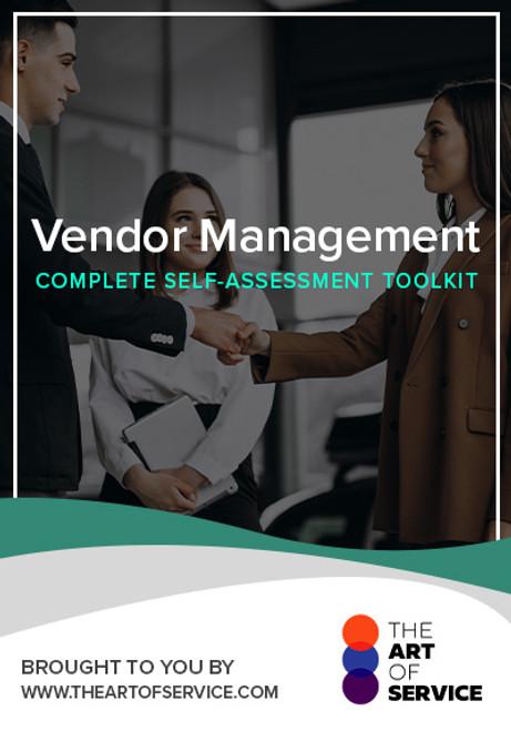 Vendor Management Toolkit