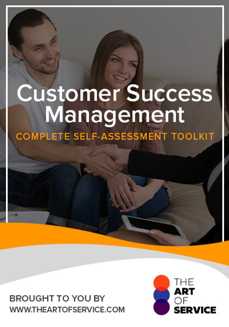 Customer Success Management Toolkit