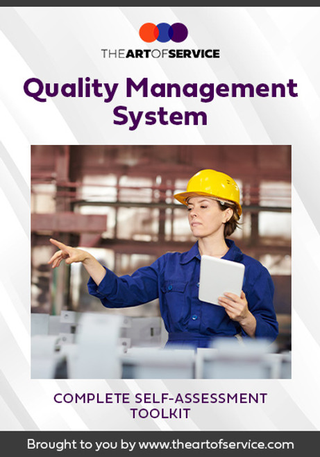Quality Management System Toolkit