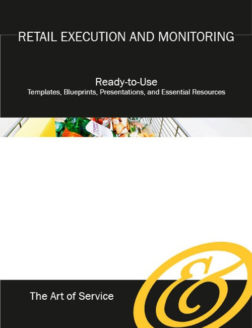 The Retail Execution and Monitoring Toolkit