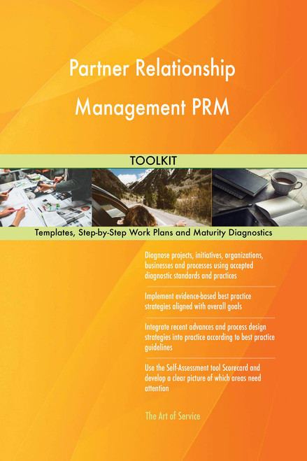 Partner Relationship Management PRM Toolkit: best-practice templates, step-by-step work plans and maturity diagnostics